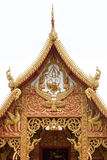 Temple pediment Royalty Free Stock Photography