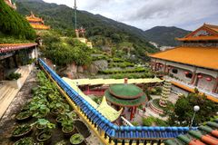 Temple in Penang Hilltop, Malaysia Royalty Free Stock Images