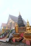 Temple pendant le matin Photo stock