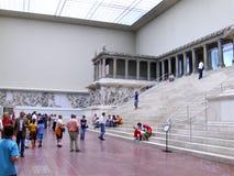 Temple of Pergam. In  Pergamon Museum in Berlin Stock Photos