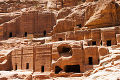 Temple of Petra Royalty Free Stock Photos