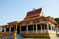 Temple in Pha That Luang. Vientiane - Laos Stock Photos