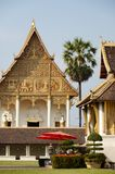 Temple in Pha That Luang. Vientiane - Laos Stock Photography