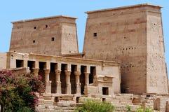 Temple of Philae. Near Aswan, Egypt Royalty Free Stock Photos