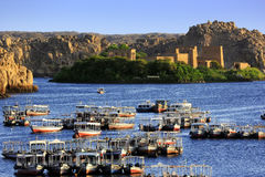 The Temple of Philae on Agilkia Island Stock Photos
