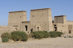 Temple of Philae in Egypt Stock Photography