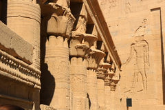 Temple of Philae, Egypt Stock Photo