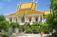Temple in Phnom Penh Royalty Free Stock Photos