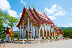 A temple. A photo of temple in phuket province Stock Photo