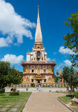 A temple. A photo of temple in phuket province southern thailand Stock Images