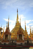 Temple Phra Boromthat, Province Tak, Thailand Royalty Free Stock Image