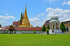 Temple phra keaw in summer Stock Photos