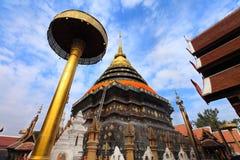 Temple Phrathat Lampang Luang in Lampang, Thailand Royalty Free Stock Images
