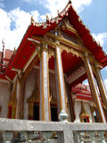 Temple at Phuket , Thailand. This is marble temple in south of Thailand Royalty Free Stock Photography