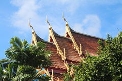 Temple in Phuket, Thailand Stock Image
