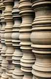 Temple pilars. Taken in Cambodia in temple region Stock Photography