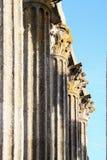 Temple pillars Stock Photos