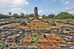 Free Temple Place Wat Lokayasutharam In Ayutthaya Stock Photos - 62996313