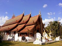 Temple. Place a Buddhist merit. Stock Photos