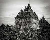 Temple of plaosan. Temple plaosan at klaten center java indonesia is religion place Stock Photo