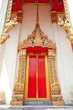 Temple portal Stock Photography