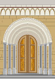 Temple portal Royalty Free Stock Images