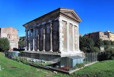 Temple of Portunus Stock Images