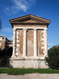 Temple of Portunus Stock Image