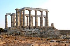 Temple of Poseidon Royalty Free Stock Image