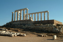 Temple of Poseidon Stock Images