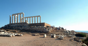 Temple of Poseidon Stock Image