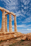 Temple of Poseidon near Athens, Greece Royalty Free Stock Photos