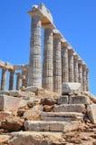Temple of Poseidon-2 Royalty Free Stock Photography