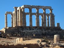Temple of Poseidon, Sounion, Greece Royalty Free Stock Photo