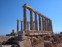 Temple of Poseidon, Sounion Stock Image