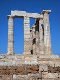 Temple of Poseidon, Sounion Stock Photography