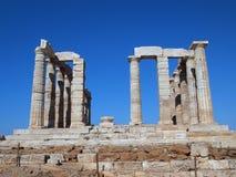 Temple of Poseidon, Sounion Royalty Free Stock Photo