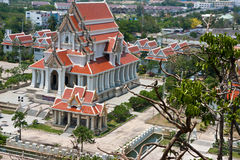 Temple in prachuap khiri khan Stock Photography