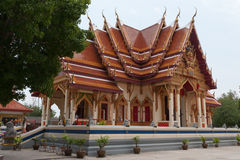 Temple in prachuap khiri khan Royalty Free Stock Image