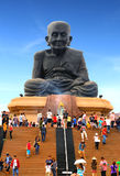 TEMPLE-PRACHUAP KHIRI KHAN-THAILAND Royalty Free Stock Photo
