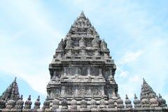 Temple on Prambanan Royalty Free Stock Image