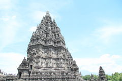 Temple on Prambanan Royalty Free Stock Image