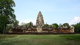 Temple, Prasat Sadok Kok Thom, Thaïlande Photos libres de droits