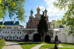 Temple of the Protection of the Blessed Mary - Moscow, Russia Stock Images