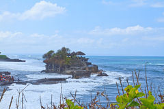 Temple Pura Tanah lot Royalty Free Stock Photo