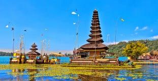 The temple Pura Ulun Danu Bratan Royalty Free Stock Image