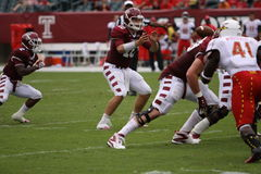 Temple quarterback Chris Coyer Royalty Free Stock Photos