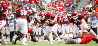 Temple quarterback Chris Coyer royalty free stock photography