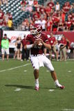 Temple quarterback Chris Coyer looks downfield Royalty Free Stock Photos