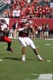 Temple quarterback Chris Coyer looks downfield Royalty Free Stock Image
